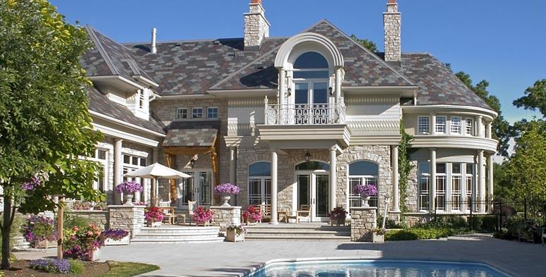 Luxury Home Pool Shot